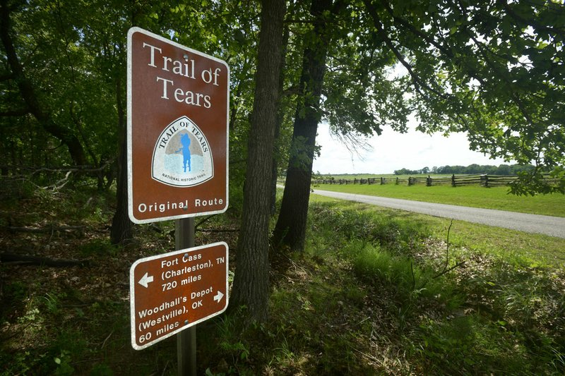Trail of Tears to be marked with historic signs