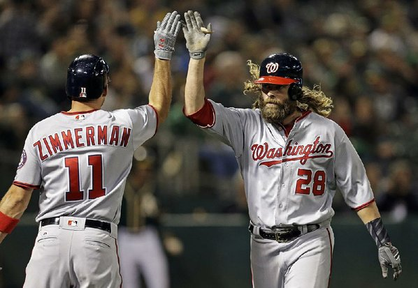 Nationals will place Jayson Werth (foot) on the disabled list