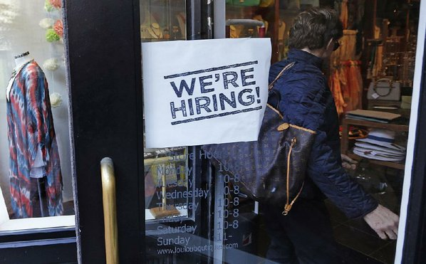 US companies post record number of open jobs in April