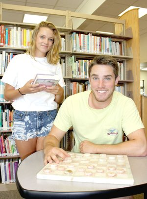 MARK HUMPHREY ENTERPRISE-LEADER/Character reference anyone? Josh Williams recently entertained his girlfriend, Kayleigh Johnson, of Conway, to showcase his hometown. The sweethearts are both members of the Hendrix track and field team.