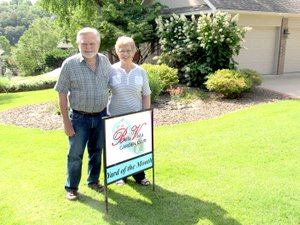 Photo submitted Roland & Nona Sperry in their front yard.