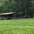 NWA Democrat-Gazette/Ashton Eley A Fay Jones designed home was destroyed by fire early Thursday in ...