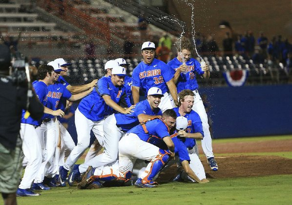 Wake Forest-Florida Super Regionals game resumes today