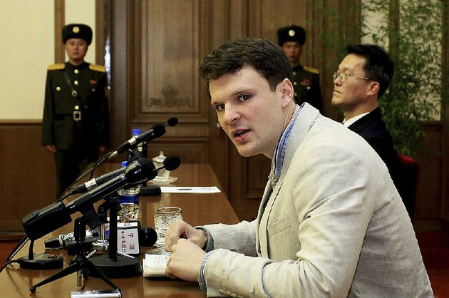 in-this-feb-29-2016-file-photo-american-student-otto-warmbier-speaks-to-reporters-in-pyongyang-north-korea-secretary-of-state-tillerson-said-tuesday-june-13-2017-that-north-korea-released-the-jailed-us-university-student