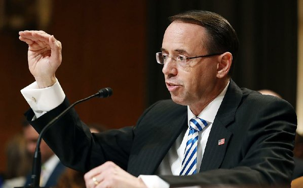 Rosenstein Says He Wouldn't Follow Order to Fire Mueller Unless 'Appropriate'