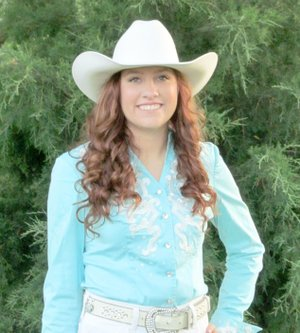 Photo submitted Brittney Doshier is a 2017 Siloam Springs Rodeo Queen contestant.