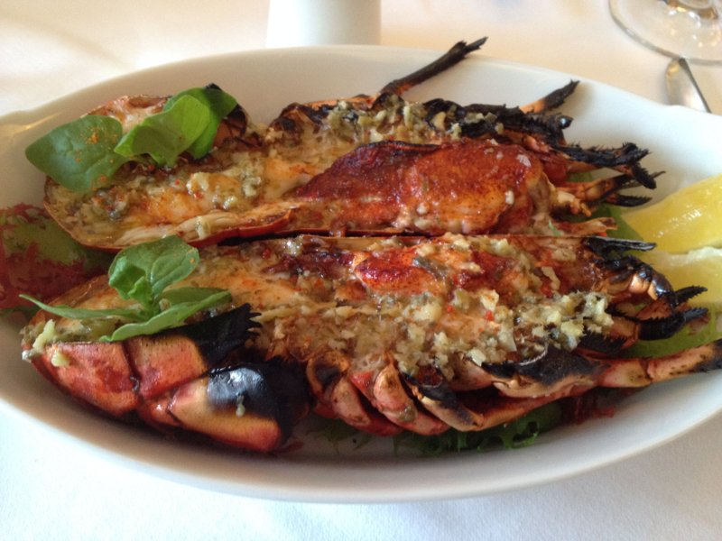 Grilled Lobster At One Eleven The Capital