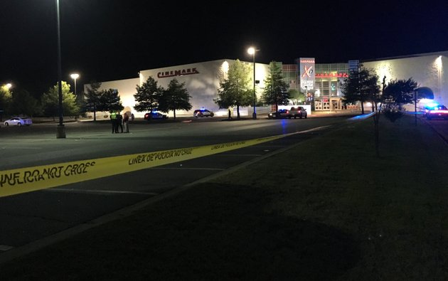 police-investigate-a-shooting-in-the-parking-lot-of-the-rave-movie-theater-saturday-night