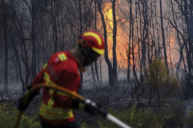 portuguese-firefighters-work-to-stop-a-forest-fire-from-reaching-the-town-of-figueiro-dos-vinhos-on-sunday-in-central-portugal