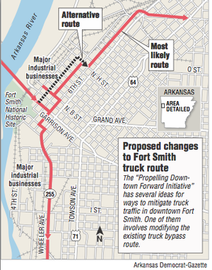 Trucking firms leery of Fort Smiths plans