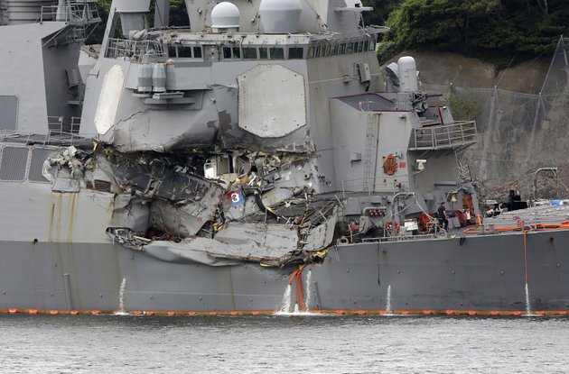 damaged-part-of-uss-fitzgerald-is-seen-at-the-us-naval-base-in-yokosuka-southwest-of-tokyo-sunday-june-18-2017-navy-divers-found-a-number-of-sailors-bodies-sunday-aboard-the-stricken-uss-fitzgerald-that-collided-with-a-container-ship-in-the-busy-sea-off-japan-but-a-spokeswoman-said-not-all-seven-missing-had-been-accounted-for