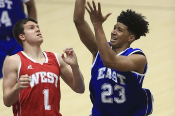 East guard Marquis ...