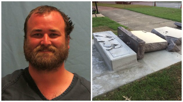 michael-tate-reed-32-of-van-buren-and-the-ten-commandments-statue-he-is-accused-of-knocking-over-with-his-vehicle
