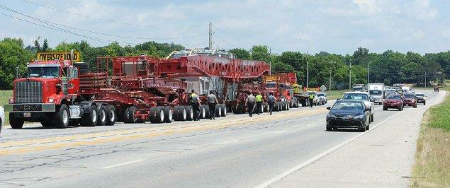 owning the road million pound superload draws spectators during rh arkansasonline com 480 to 240 Transformer Wiring Step-Up Transformer Wiring Diagrams