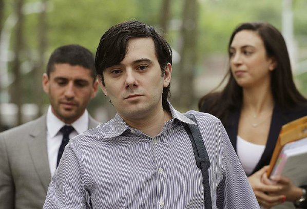 'Pharma bro' Shkreli barred from discussing trial around courthouse
