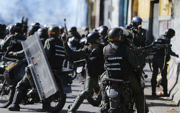 Missing Venezuelan chopper pilot in grenade attack reappears