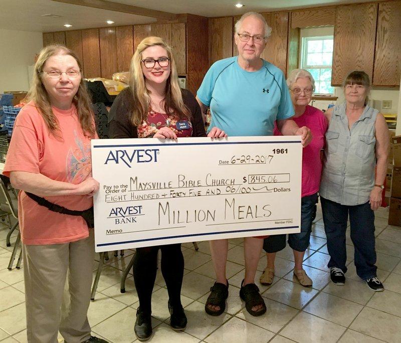 Arvest provides more than 1 8 million meals