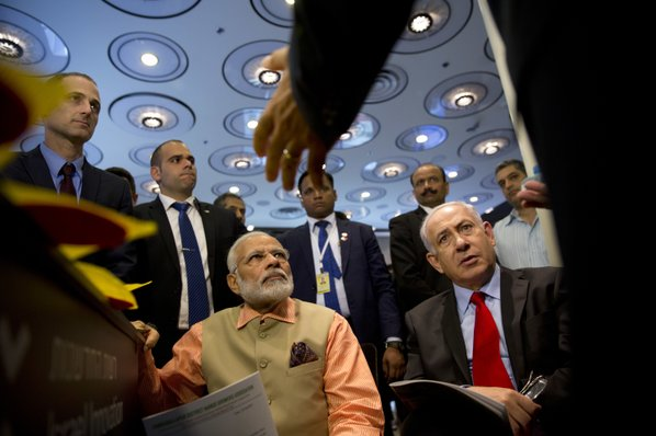 India, Israel give a $5bn boost to commercial ties