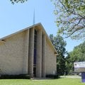 A newly purple marquee marks New Fellowship Baptist Church's official move to Cherry Street in Pine ...