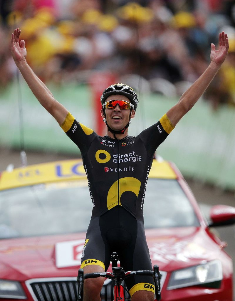 France s Lilian Calmejane won the eighth stage of the Tour de France  Saturday d80afee53