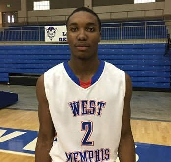 West Memphis sophomore and 15-under Arkansas Wings forward Chris Moore.