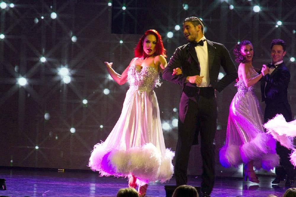 Stars onstage: Dancers from ABC's 'Dancing With the Stars