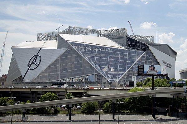 Sec media days report atlanta set to unveil new stadium for Mercedes benz of atlanta ga