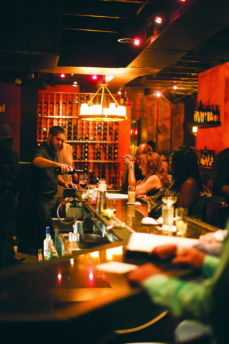 So Restaurant Bar In Little Rock S Hillcrest Has For The Second Year A Row Earned Two Gles Best Of Award Excellence Honors From Wine Spectator