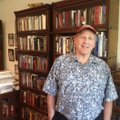 Sam Totten, a genocide expert and former University of Arkansas professor, stands inside his home of...