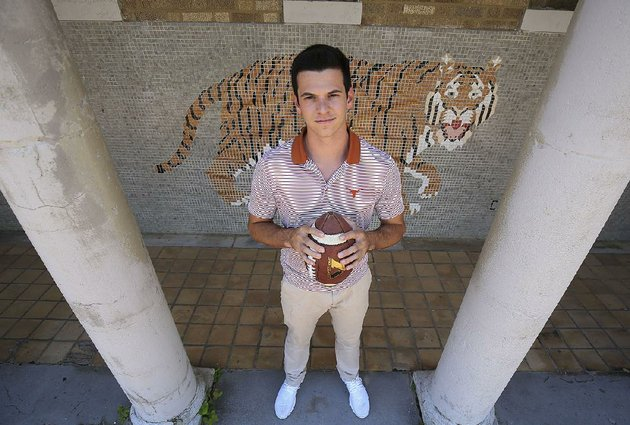 jason-ronnel-was-the-kicker-for-little-rock-centrals-football-team-in-2016-he-was-the-tigers-leading-scorer-with-10-field-goals-and-28-extra-points-also-ronnel-averaged-390-yards-per-punt-with-a-long-of-59-he-plans-to-walk-on-as-a-kicker-at-texas