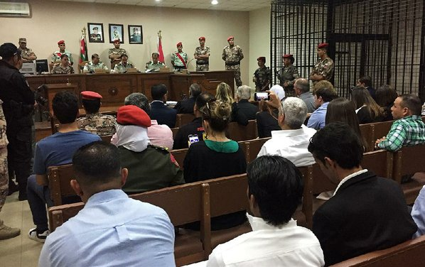 Jordanian soldier sentenced to life in prison for killing 3 United States servicemen