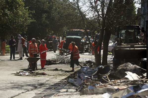 Taliban Claim Kabul Explosion That Killed Dozens — Lastest news