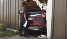PHOTOS, VIDEO: SUV crashes into west Little Rock restaurant; driver taken to hospital