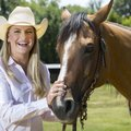 Shelbi Rice, who will be a senior in the fall at Cedarville High School, is the state barrel racing ...