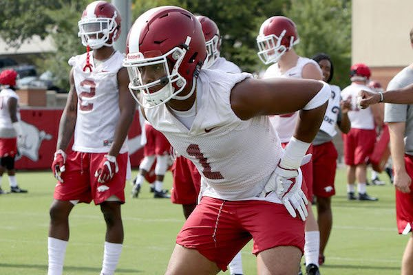 arkansas-razorback-cornerback-chevin-calloway-runs-through-drills-friday-july-28-2017-during-practice-on-campus-in-fayetteville