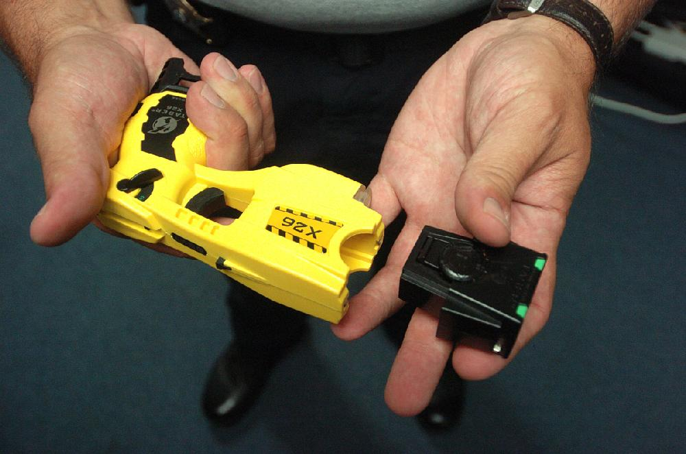 Some lawmen opt to use pepper guns | Arkansas Democrat-Gazette