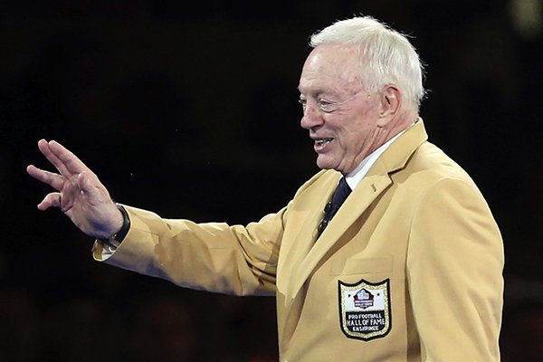 competitive price 65a44 4eac5 WholeHogSports - Jerry Jones induction into Pro Football HOF ...