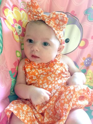 COURTESY PHOTO/Alaina Wilkins will be competing in the Infant division of the pageant.