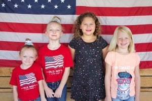 COURTESY PHOTO/Pictured Little Miss Jesse James contestants are, from left to right, Catherine Friend; Natalee Friend; Macy Smith and Brooklyn Lilly.