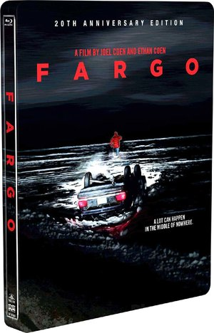 DVD cover for Fargo
