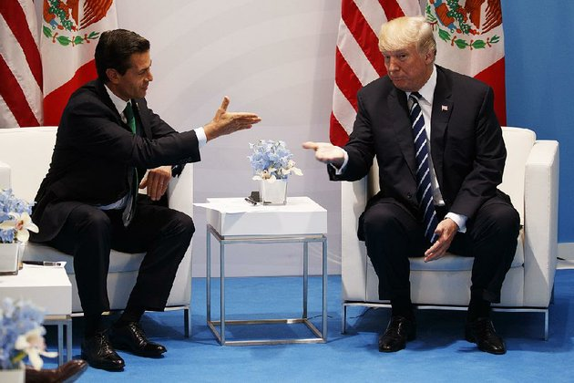 president-donald-trump-met-with-mexican-president-enrique-pena-nieto-in-july-at-the-group-of-20-summit-in-hamburg-germany-trump-is-looking-to-retool-the-north-american-free-trade-agreement-of-which-mexico-is-a-party