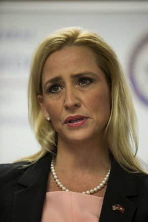 Attorney General Leslie Rutledge is shown in this 2016 file photo.