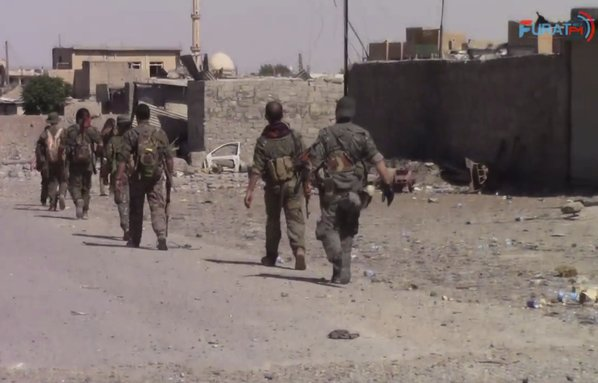 Backed SDF have cleared ISIS of more than half of Raqqa, Syria