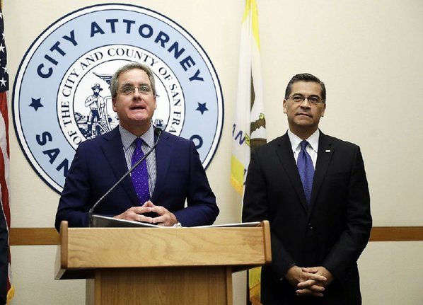 California attorney general to sue Trump administration over `sanctuary city' threat