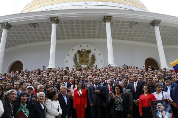 Venezuela's constituent assembly assumes power to legislate