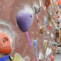 Jordan Kight of Rogers climbs Friday at Ozark Climbing Gym in Springdale. A facility planned for Ben...