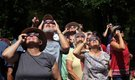 Partial eclipse enough for many in state