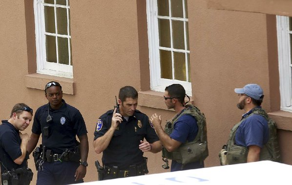 Police converge on U.S. city of Charleston amid reports of active shooter
