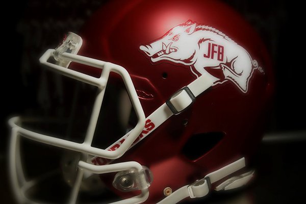 Arkansas will wear a special decal for its game against Florida A&M on Thursday, Aug. 31, 2017, at War Memorial Stadium in Little Rock.