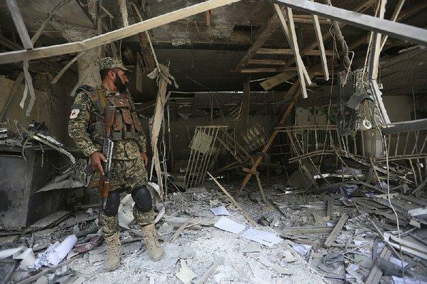 Bank blast kills at least one in Afghan capital Kabul